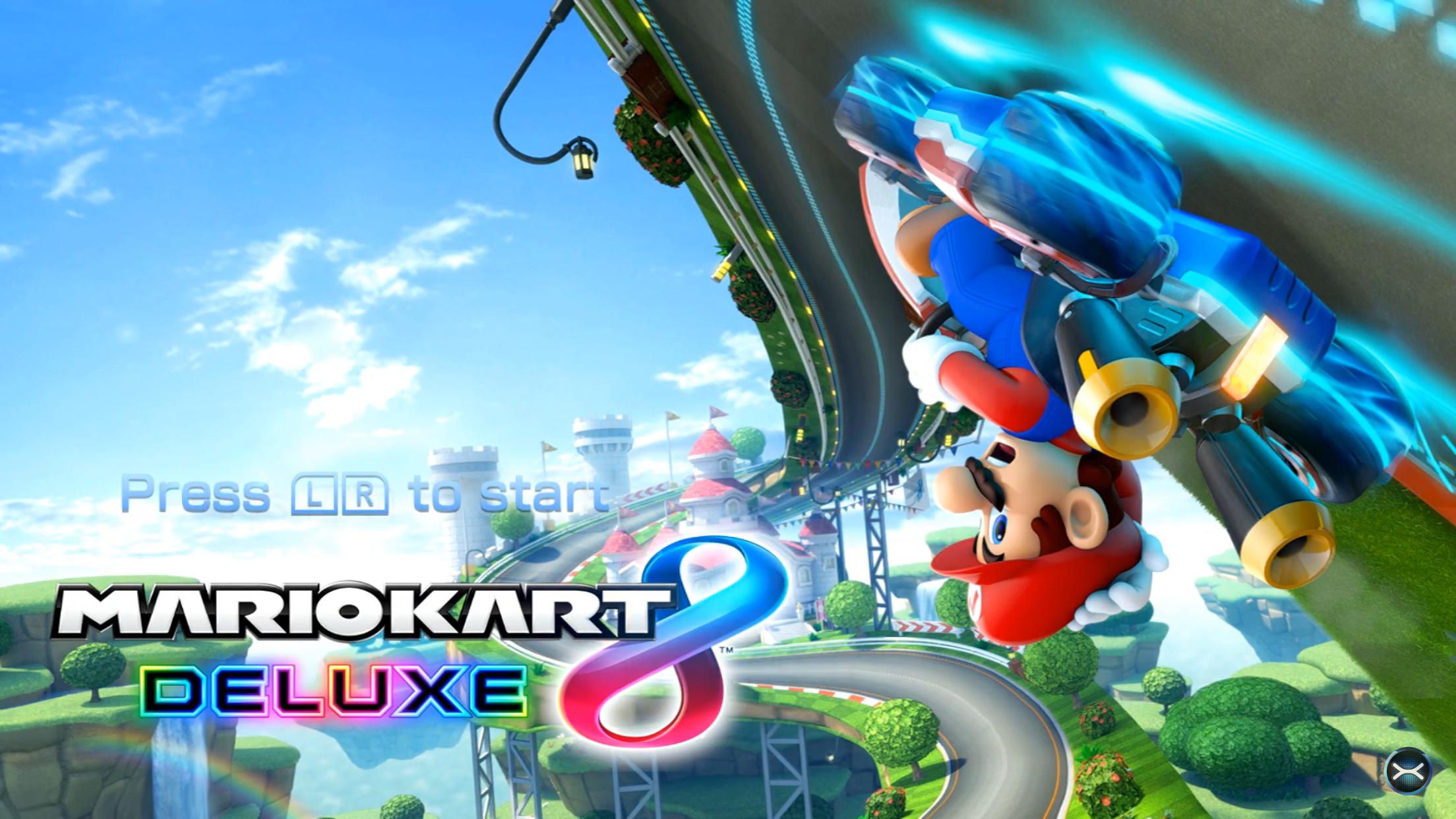 Mario Kart 8 Deluxe Title Screen