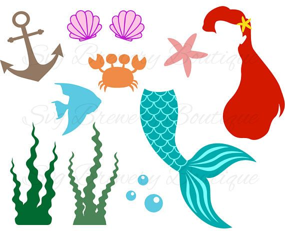 Mermaid Tail Clam Shell Svg Layered Png Dxf Pdf Cricut Etsy Mermaid Tail Mermaid Crafts Vinyl Decals