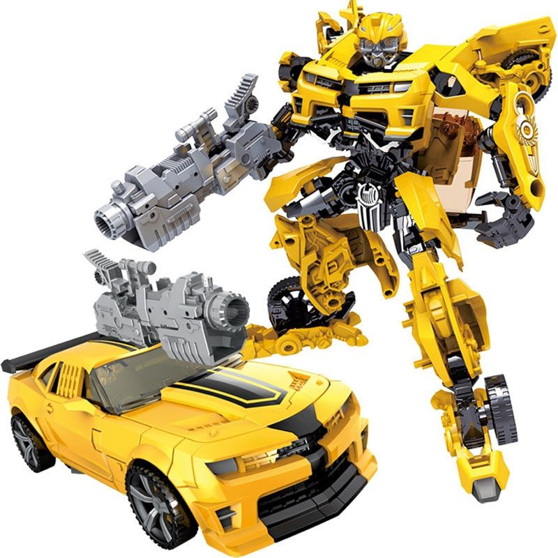 Transformers 5 The Last Knight Movie Optimus Prime Bumblebee Action Figure Clone Qunlong Transformers Spielzeug Spielzeug Kinderspielzeug