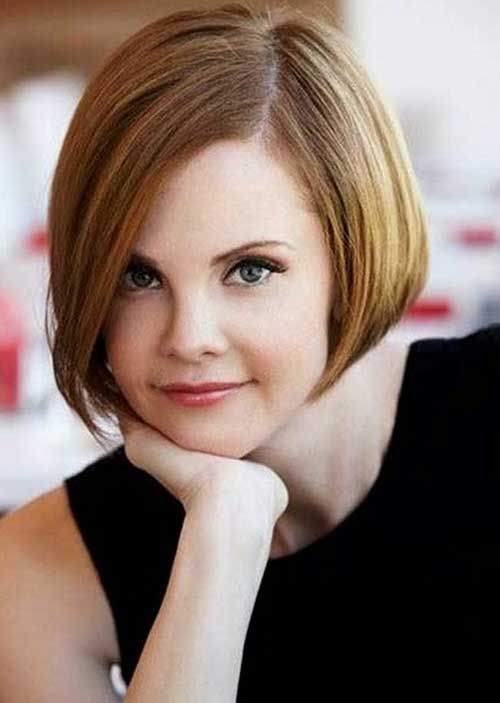 15 Cute Short Hairstyles For Thin Hair Brown Bob Hair Thin Hair