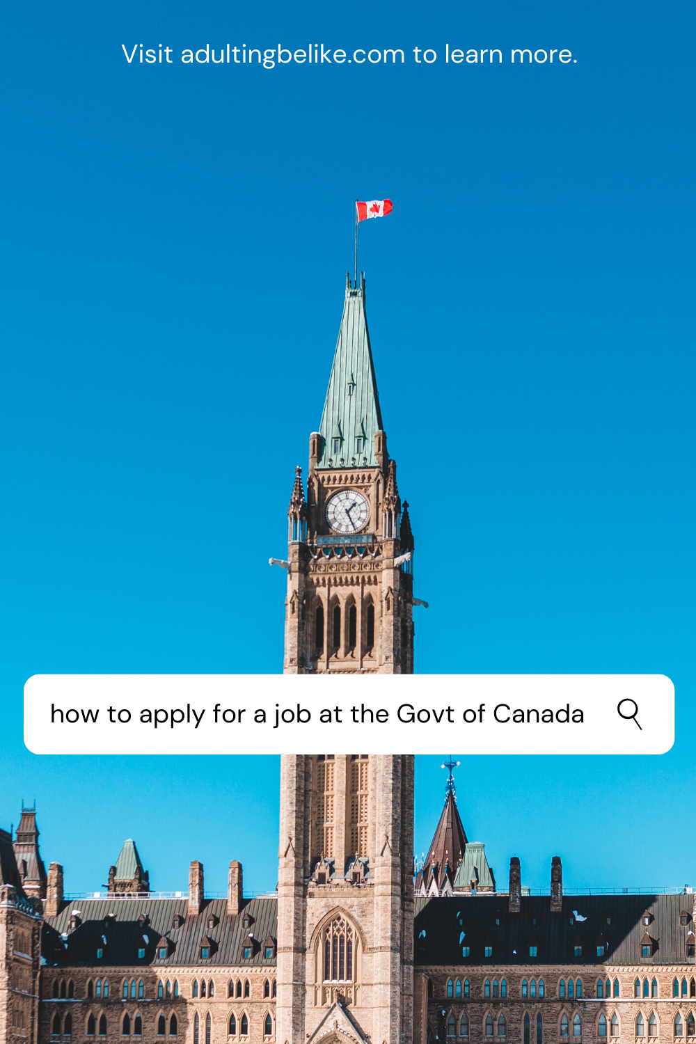 How to Apply for a Job at the Government of Canada  | Job Search