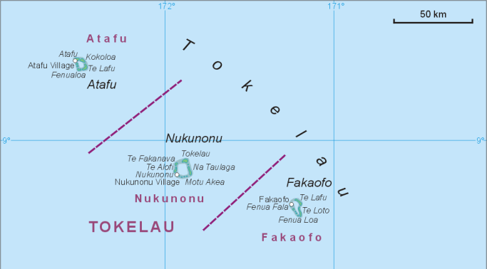 Tokelau Islands Tokelau Pinterest - Tokelau map
