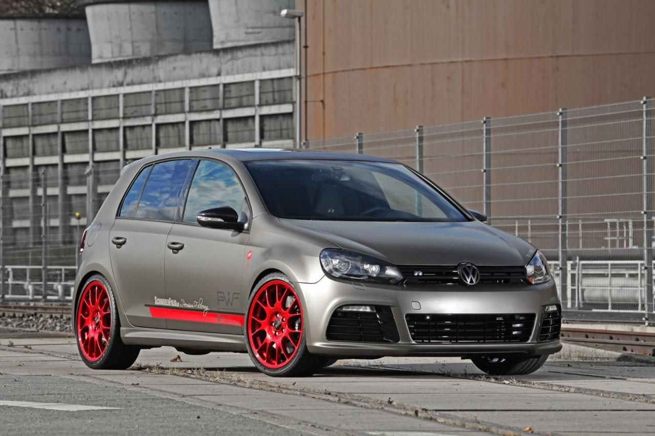 Volkswagen Golf VI R Vw Golf Pinterest