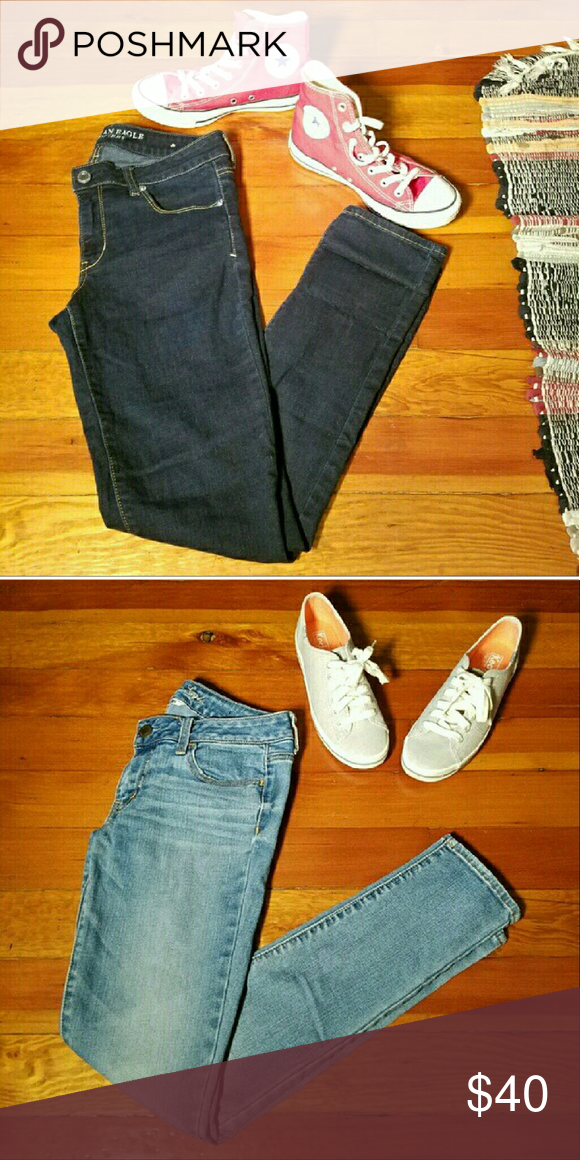 JEAN BUNDLE AE 2 skinny AE jeans American Eagle Outfitters Jeans Skinny