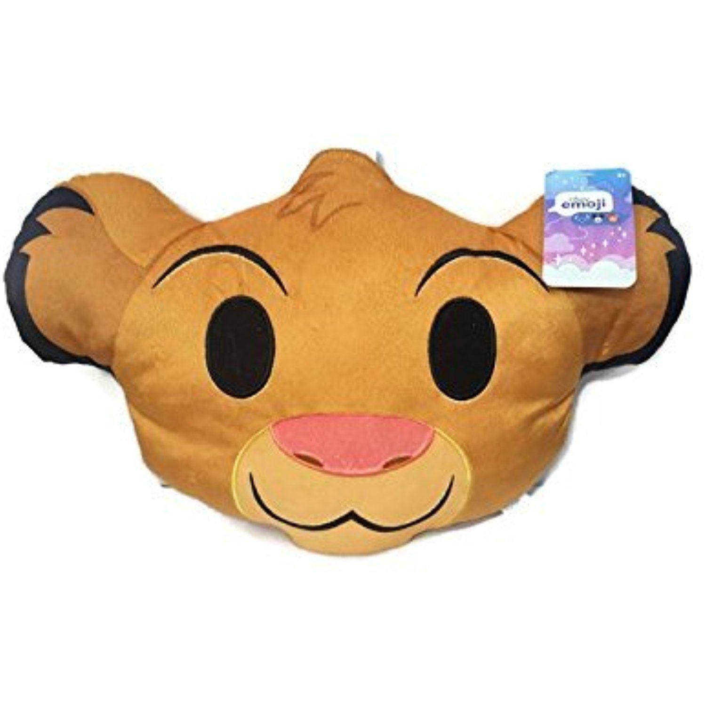 Minnie Heart Face Emoji Disney Emoji Plush Pillow