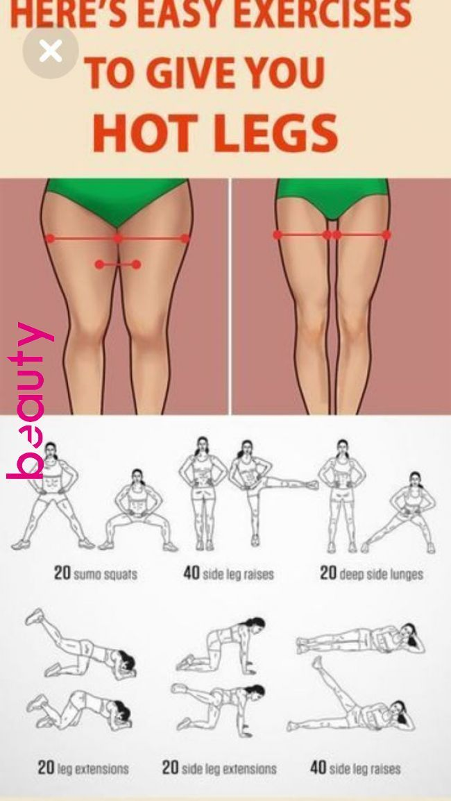 You will only need 10 minutes a day to get rid of the stubborn fat on the thighs... - Papier Kunst #updotutorial