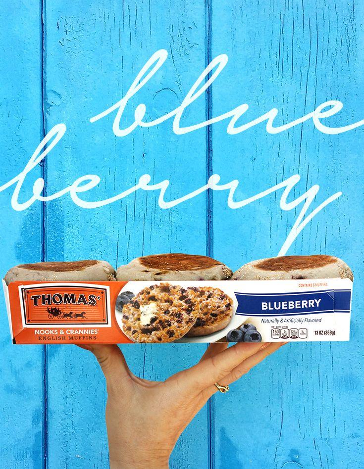 Thomas Blueberry English Muffin Thomas English Muffins English Muffin Breakfast