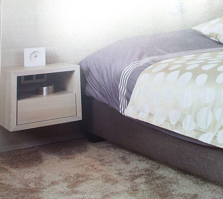 Ikea Malm Zwevend Nachtkastje.Nachtkastje Zwevend Slaapkamer In 2019 Bedroom Bed En Home Decor
