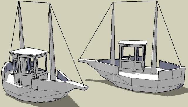 Pin By Eko Klocki On Statki Paper Crafts Fishing Boats Boat