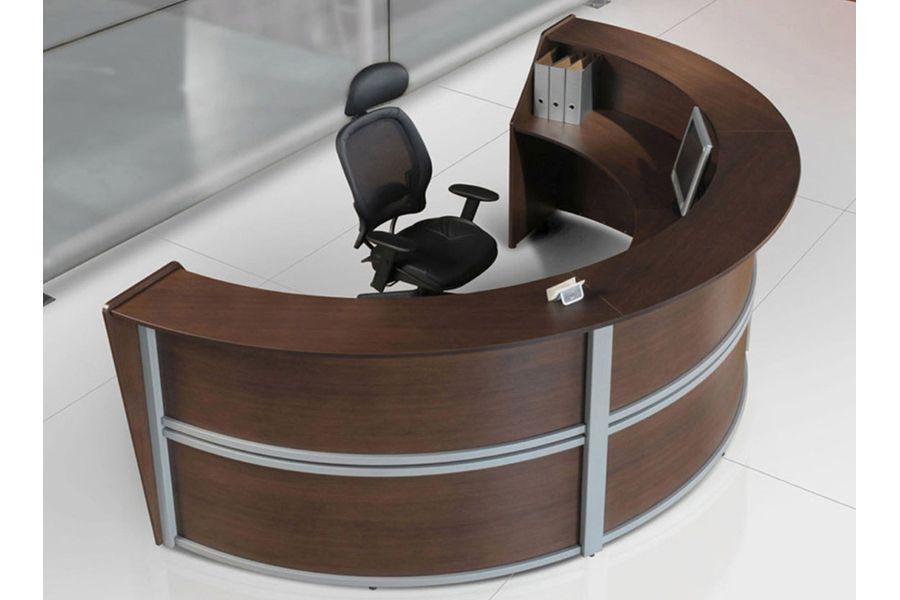 Muebles De Oficina Escritorios Precios.Mueble Para Recepcion Circular Recepciones De Oficinas En 2019
