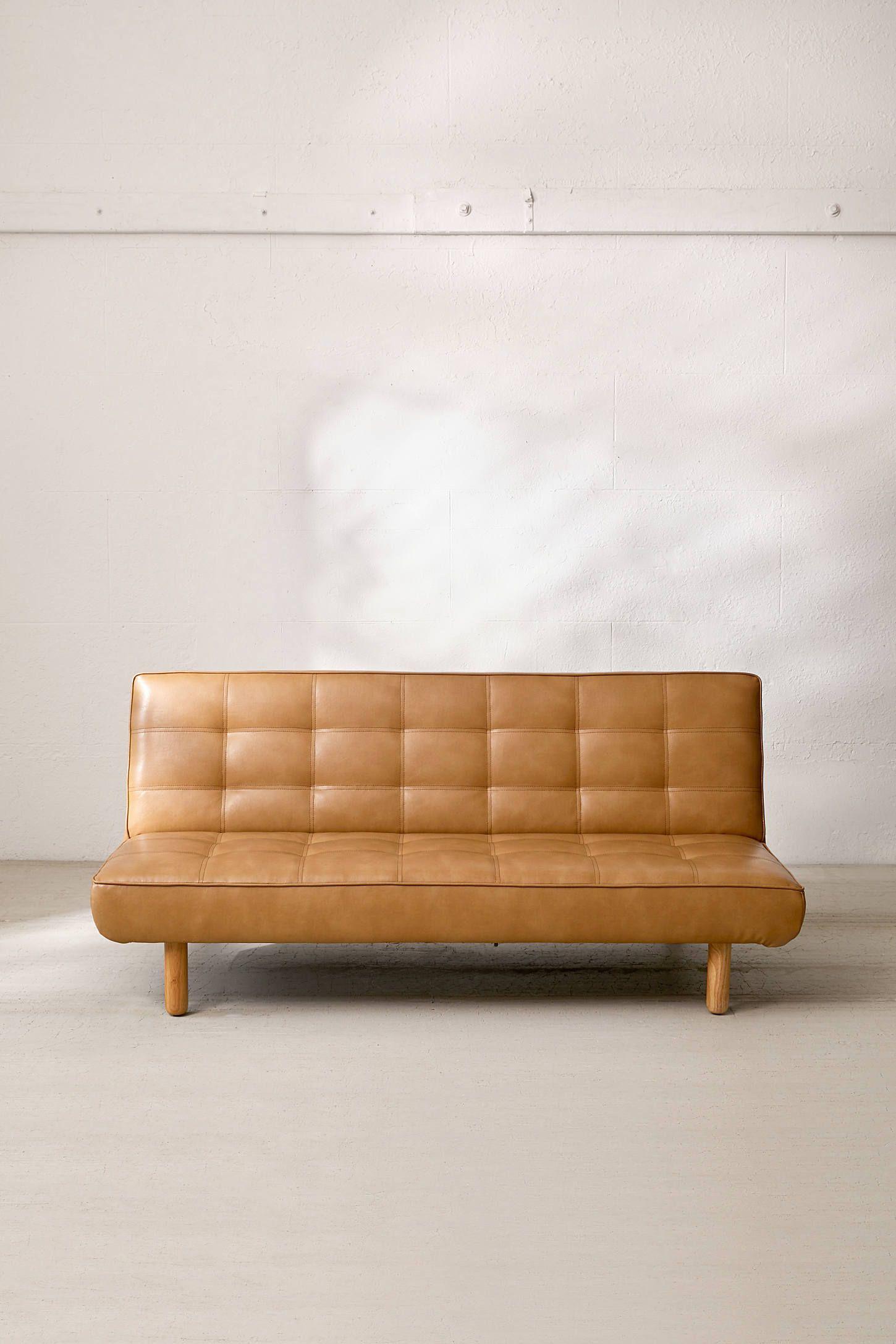 Pigmented Leather Sofa
