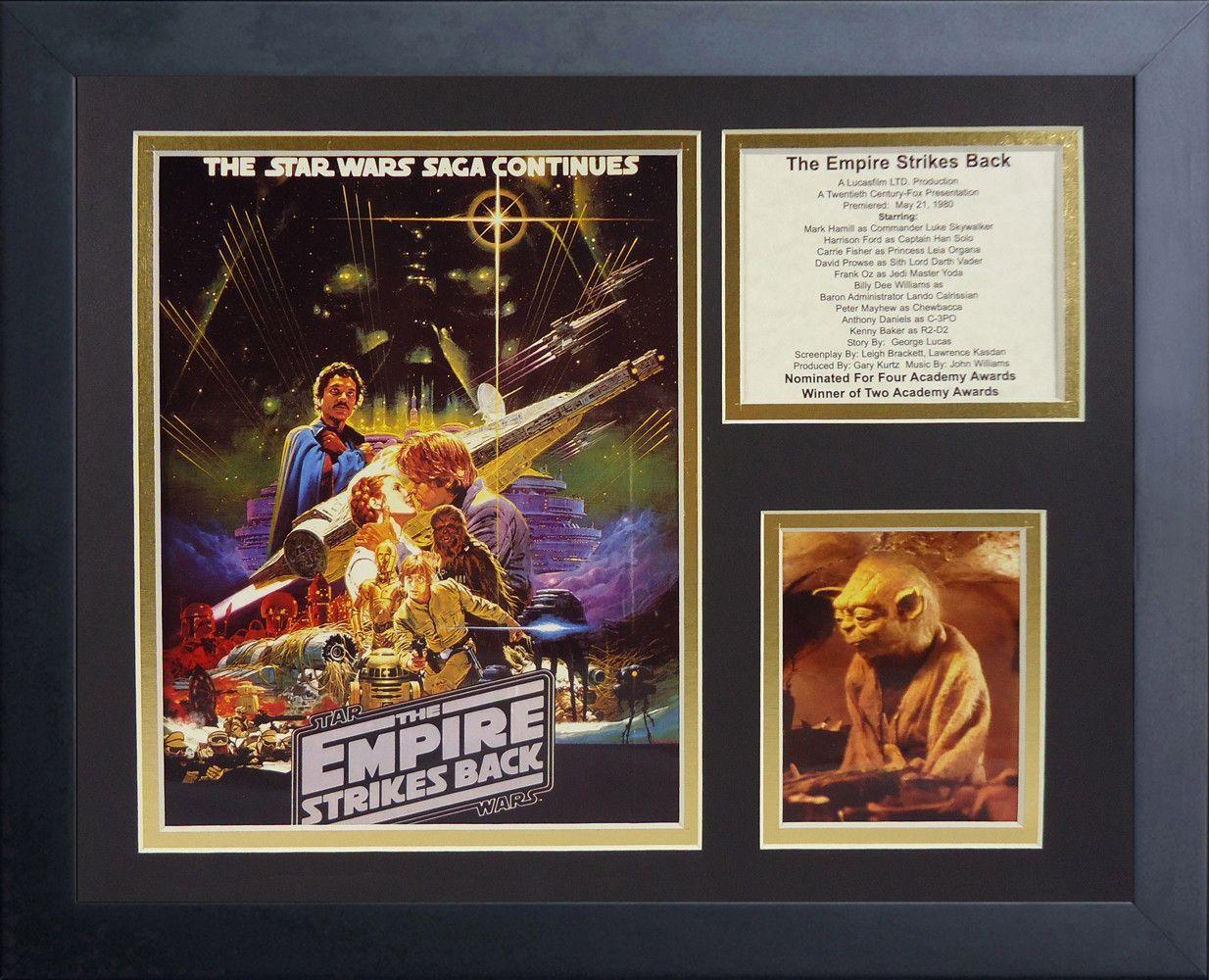 Star Wars The Empire Strikes Back Framed Memorabilia