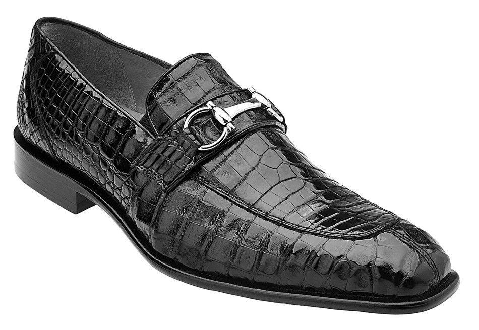 Belvedere Mercuri Black Crocodile