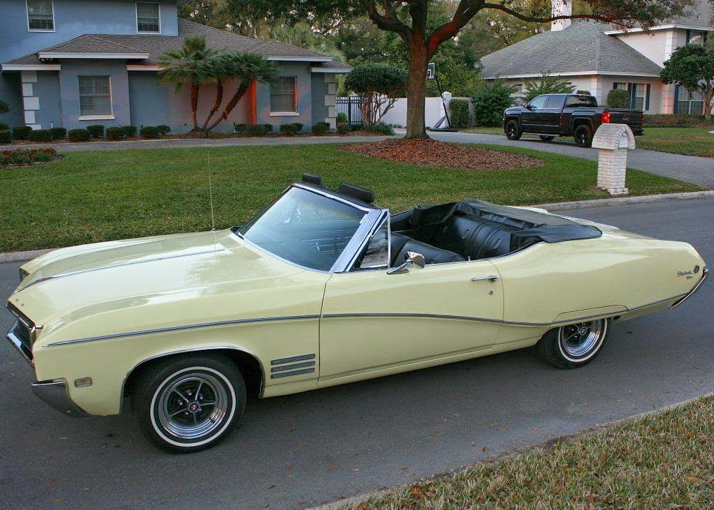 1968 Buick Skylark Custom 2 Door Convertible Buick Skylark Buick Buick Cars