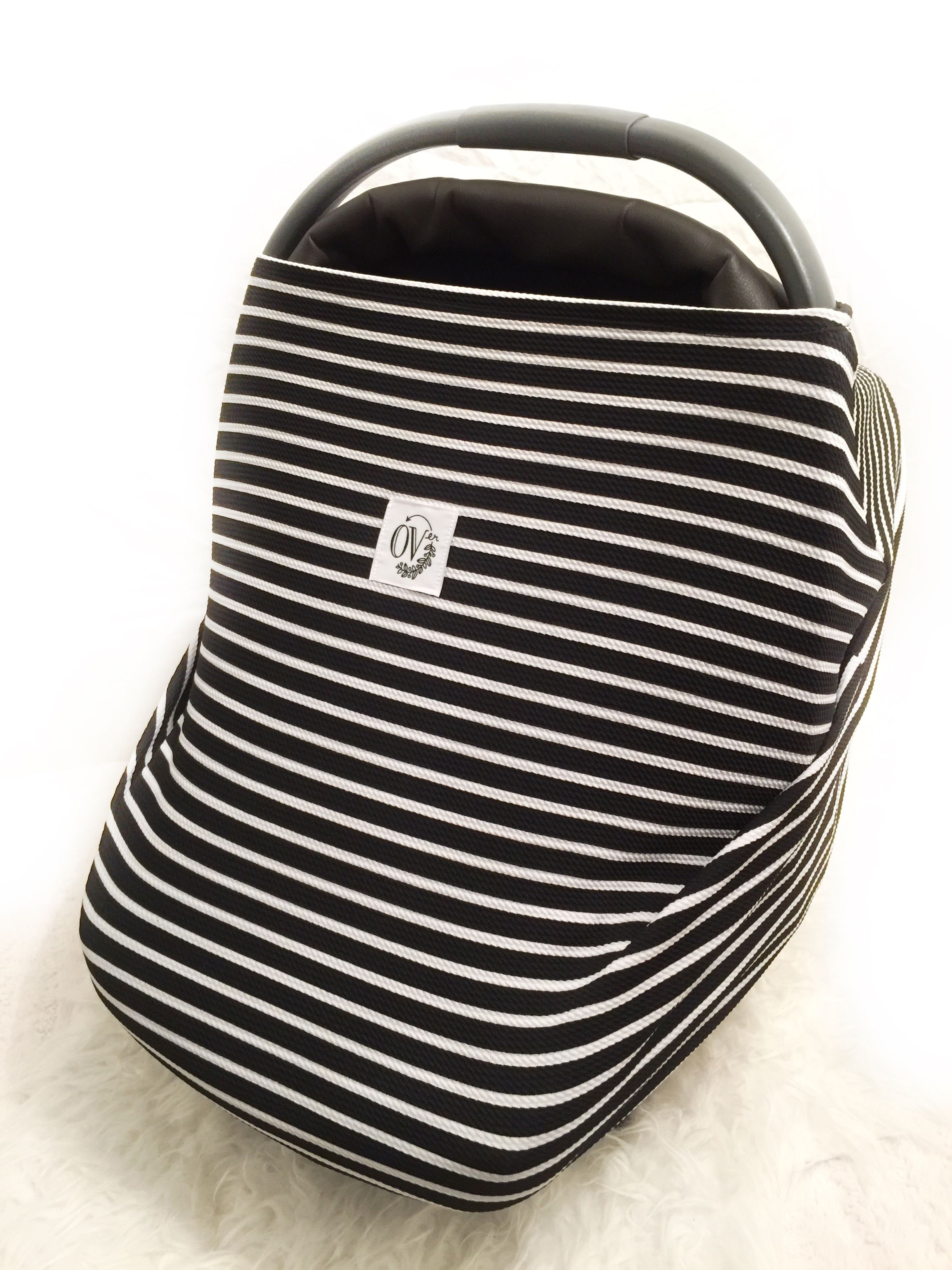 Classic Black&White Stripe OVer — the OVer pany Multi use baby