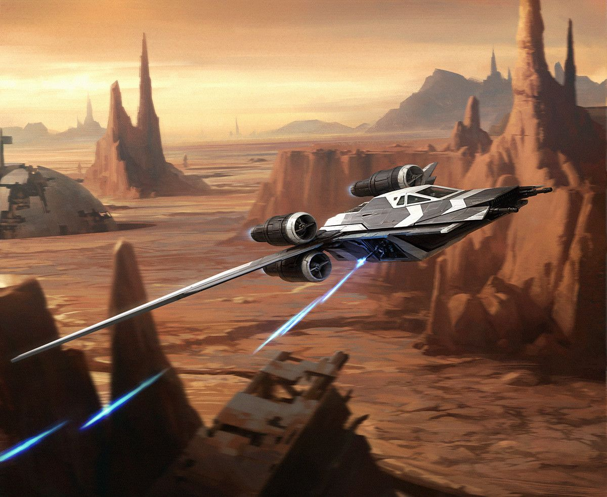 Saw S Renegades X Wing Miniatures By Darren Tan Saw Gerrera S Partisans Maintained A Small Squadron Star Wars Images Star Wars Droids Star Wars Ships Design
