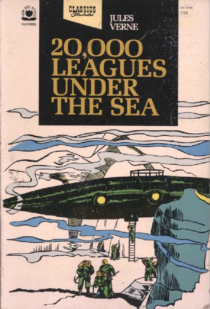 20 000 leagues under the sea published by now age books illustrated