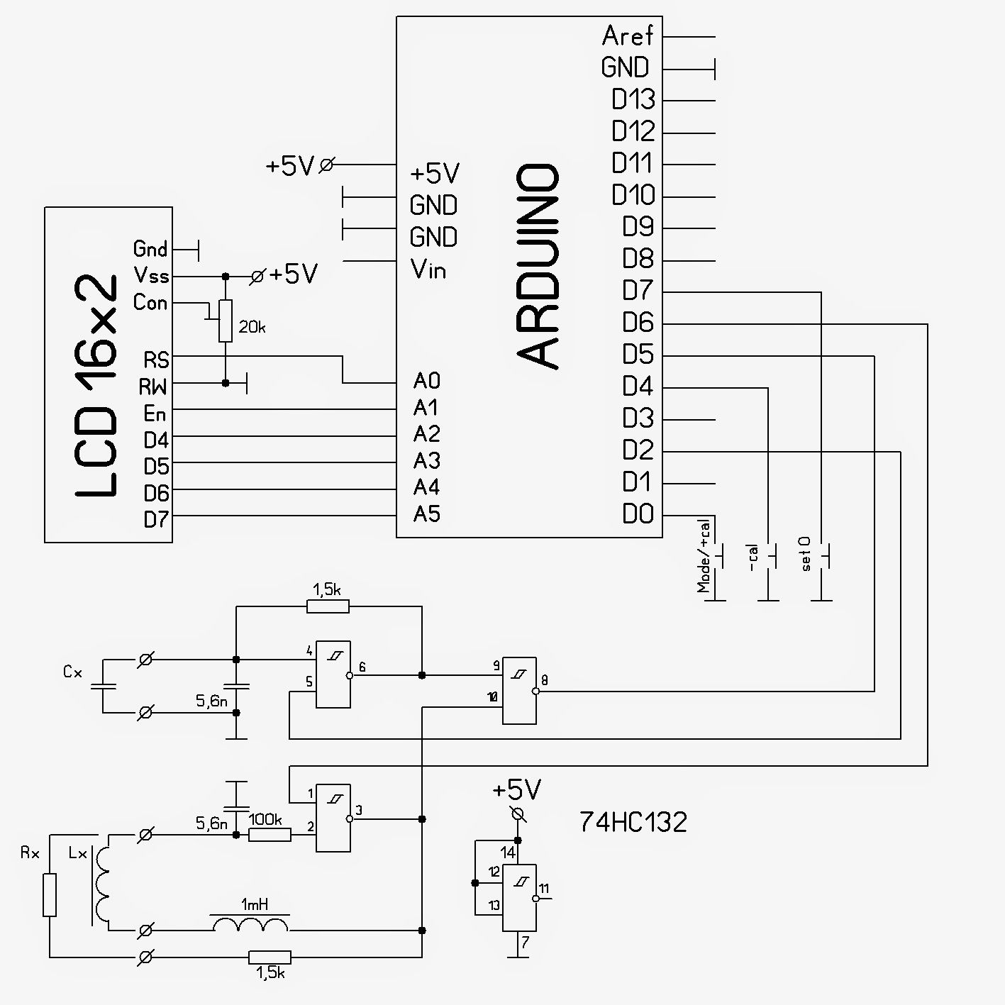 Bipolar stepper with Arduino and ULN2803 - Schematics   Electronics ...