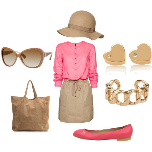 Pink Brown Summer Outfit Idea Summer Outfits Fashion Outfits