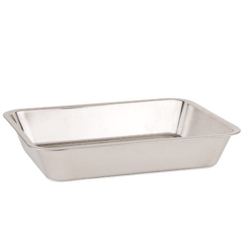 Stainless Steel Baking Pan Roasting Pan 16 38 X 12 58 X 2 78 Check This Awesome Product By Going To The Link Stainless Steel Pans Baking Pans Roasting Pan