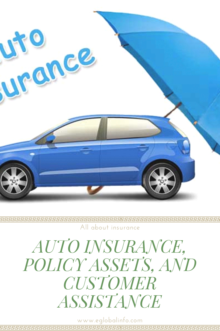 Auto Insurance Policy Assets And Customer Assistance Car