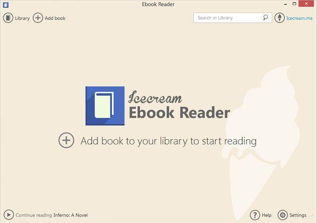 icecream ebook reader http icecreamapps com ebook reader start