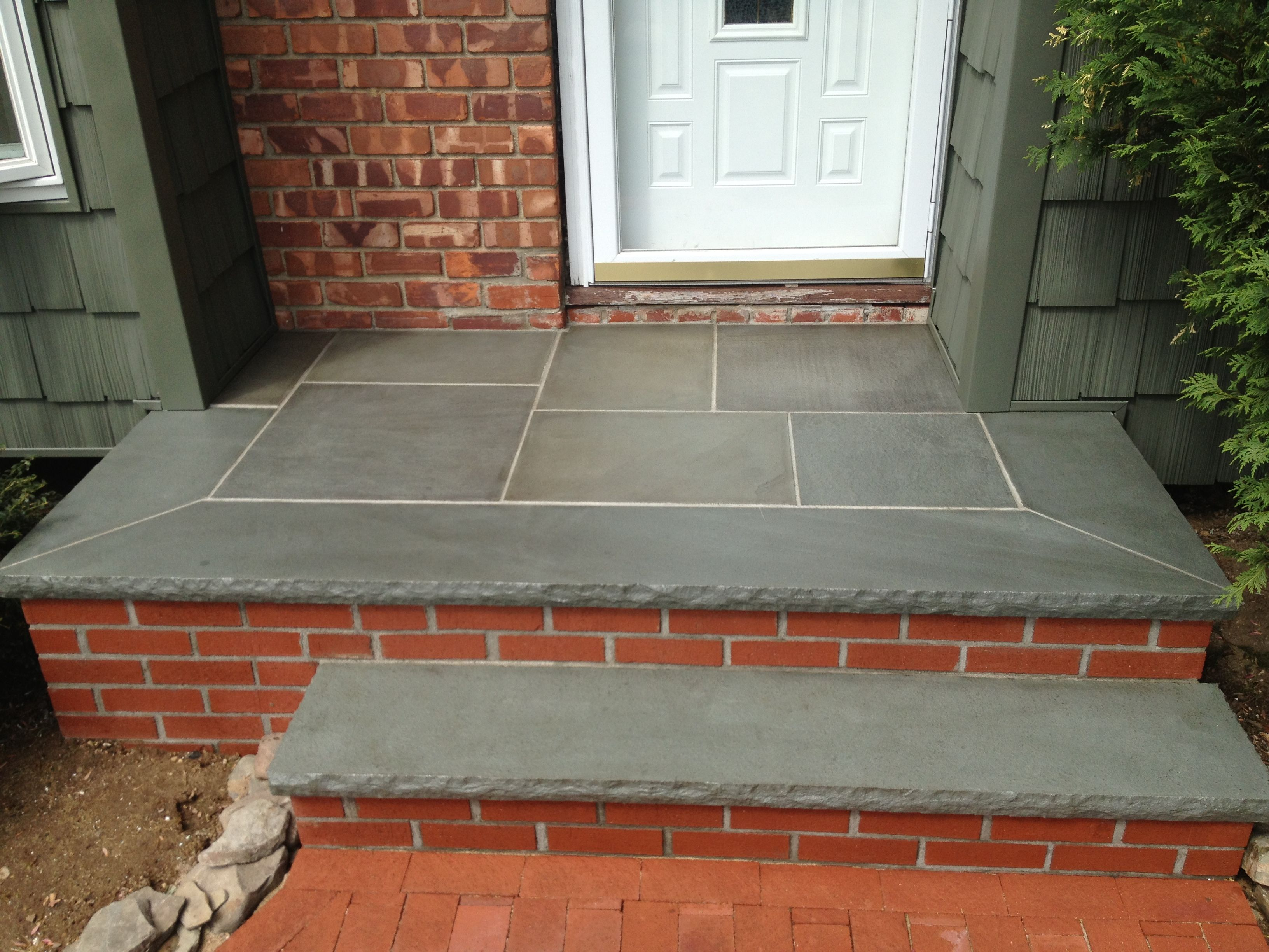 High Gloss Sealed Bluestone | Masonry Contractors | Brickwork | Stone Work  | Driveways | Patios | Paver Sealing | Consultation: Paul Saladino (631)  678 6896 ...