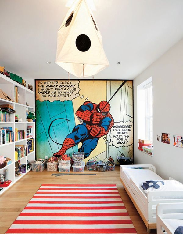 20 Kids Bedroom Ideas With Spiderman Themed