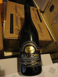 Villa Gemma Montepulciano D'Abruzzo 2001...expensive