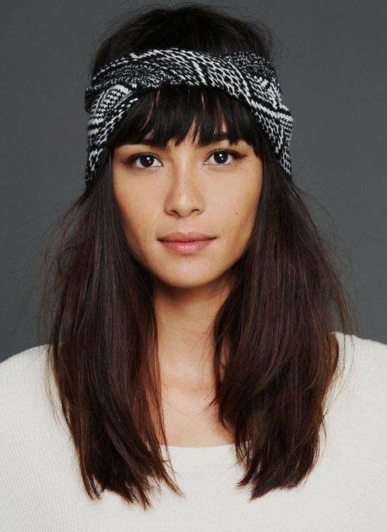 Coiffure headband été 2017 nouer son foulard en bandeau