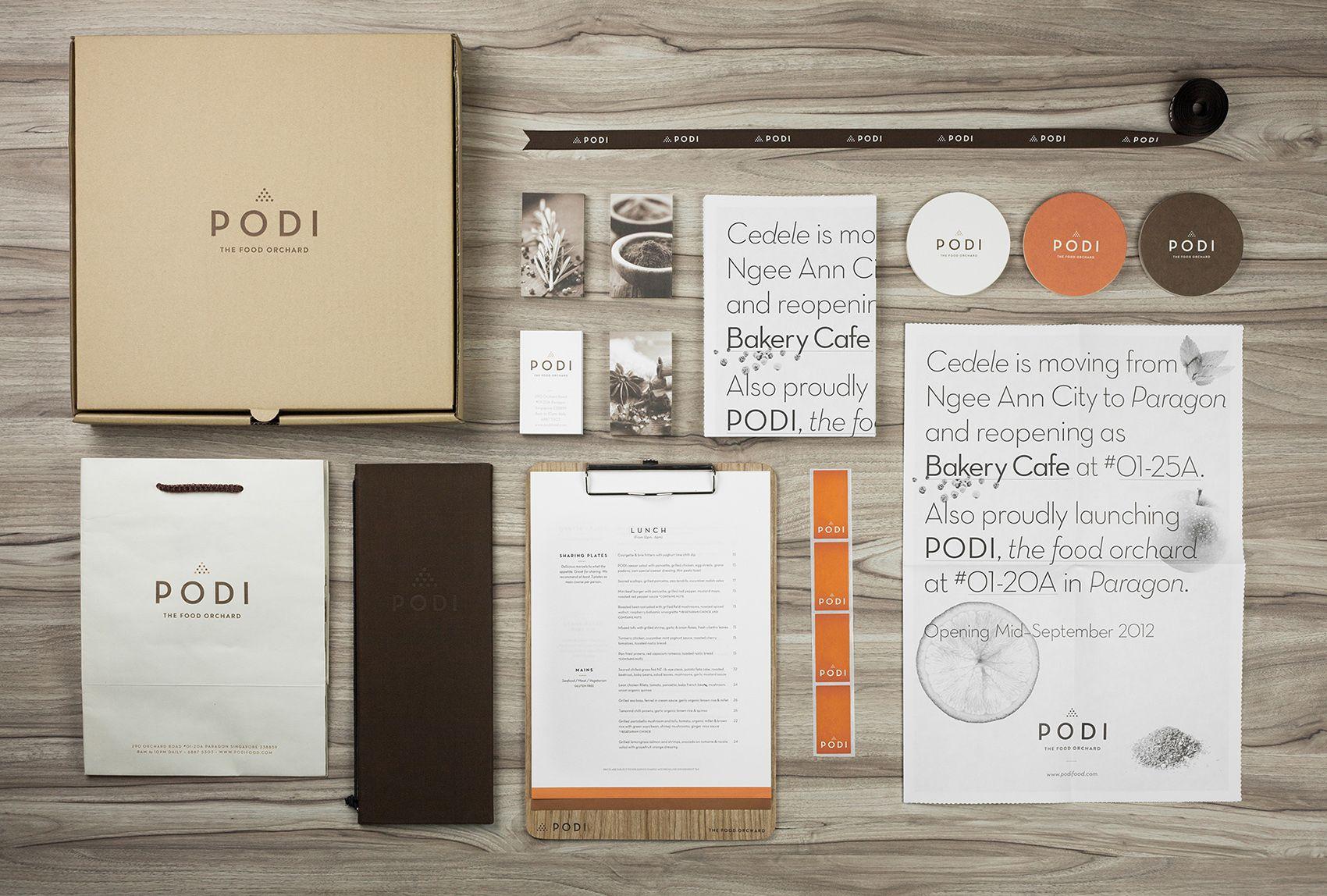 Podi Restaurant branding by Bravo