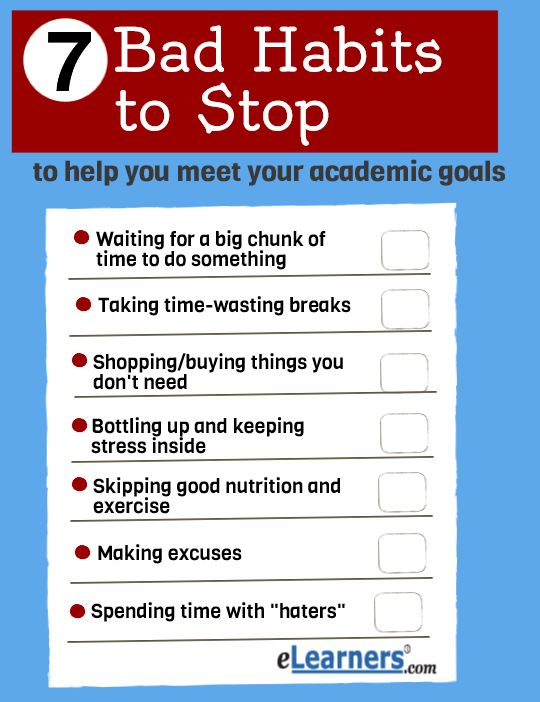 bad habits education ote bad habits student life bad habits