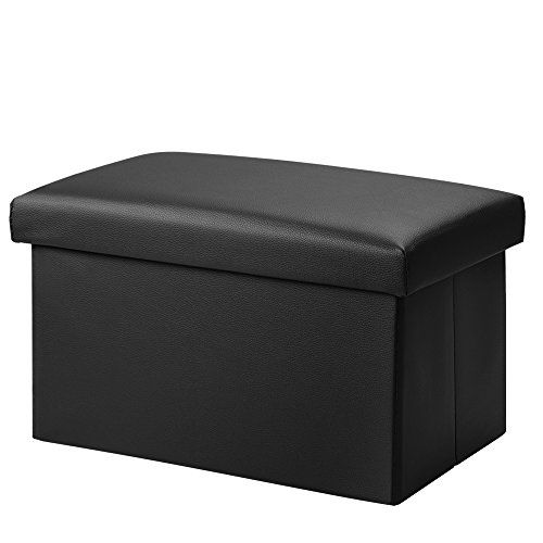 Cool Foldable Leather Storage Ottoman Bench Footrest Stool Coffee Gmtry Best Dining Table And Chair Ideas Images Gmtryco