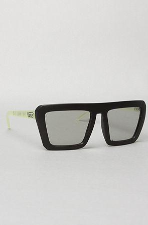 The Retro Rocker Sunglasses in 3-D Glow by Vans