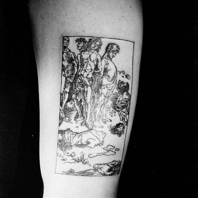 #tattoo #tuszzarogiem #szymon
