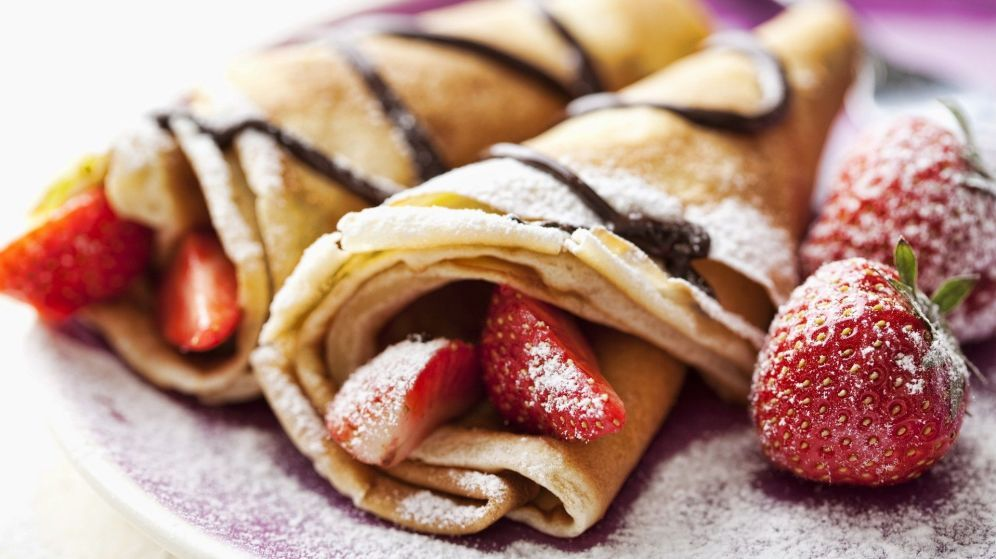 Lovely Food For Thought: Crazy For Crepes