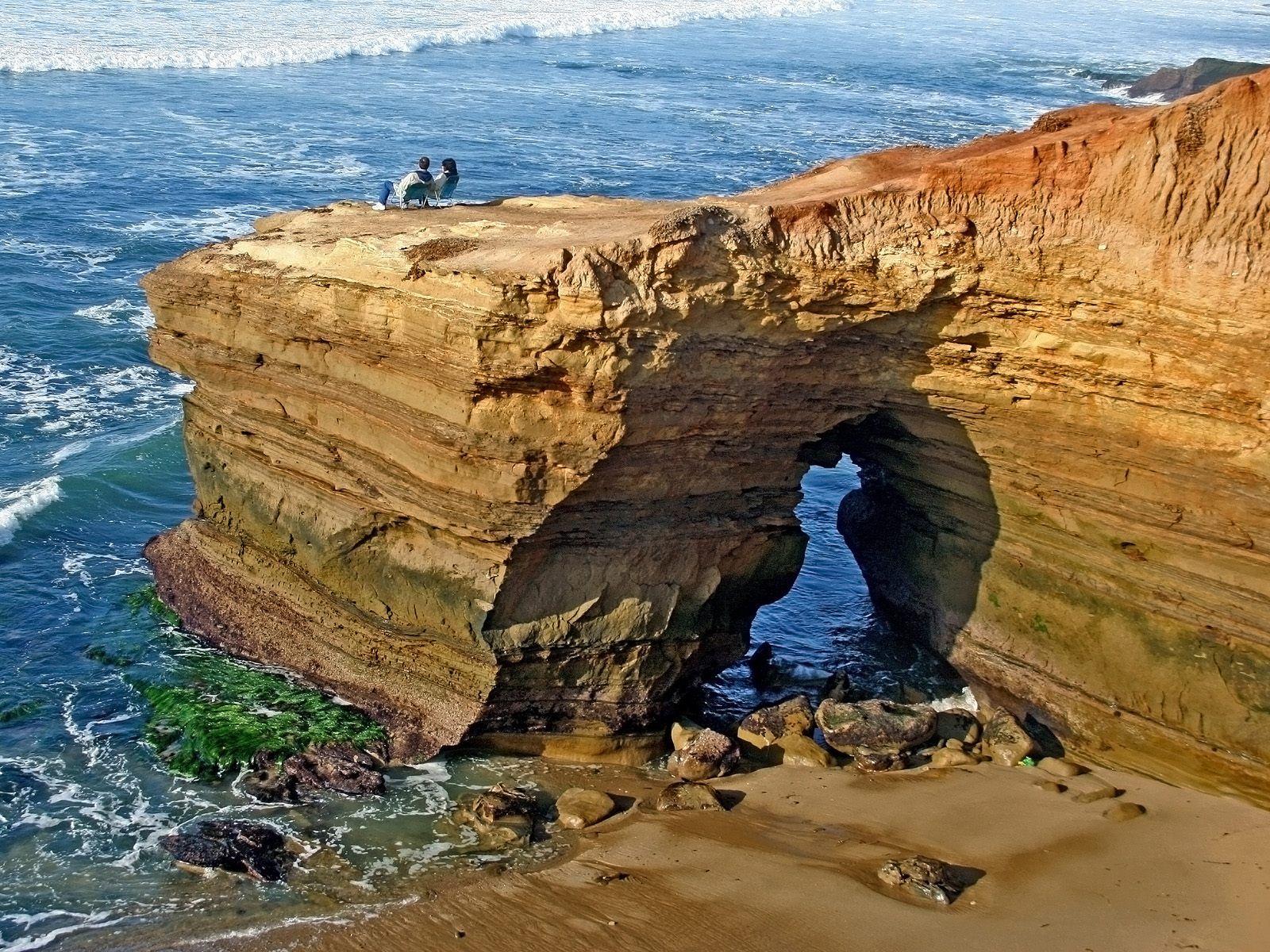 San Diego California Beaches | Beach, Rock, San Diego ...