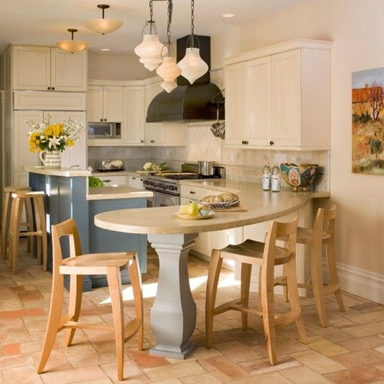 wonderful eat in kitchen tables design cozy rustic kitchen design with counter for eat in on kitchen island ideas eat in id=65730