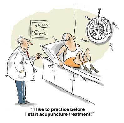 fridayfunny 6/6/2014 Acupuncture, Acupressure