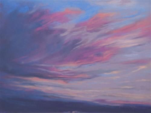 "Daily Paintworks - ""Sky on Fire"" by Sarah Peroutka"