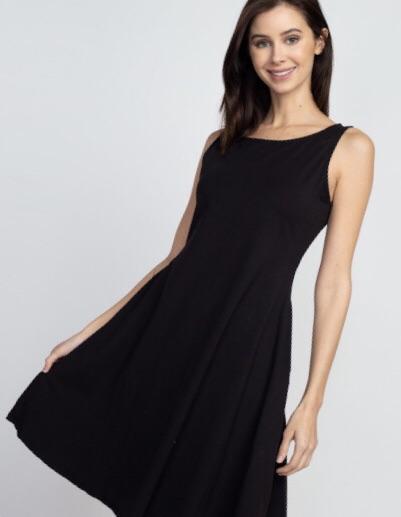 Black Sleeveless Dress #blacksleevelessdress Black Sleeveless Dress  #shopstyle #styleinspiration #shopthelook #fieldofwishesclothing #summerstyles #springstyles #trends #affordablefashion #midwestfashion #fashion #women #everyday #blacksleevelessdress