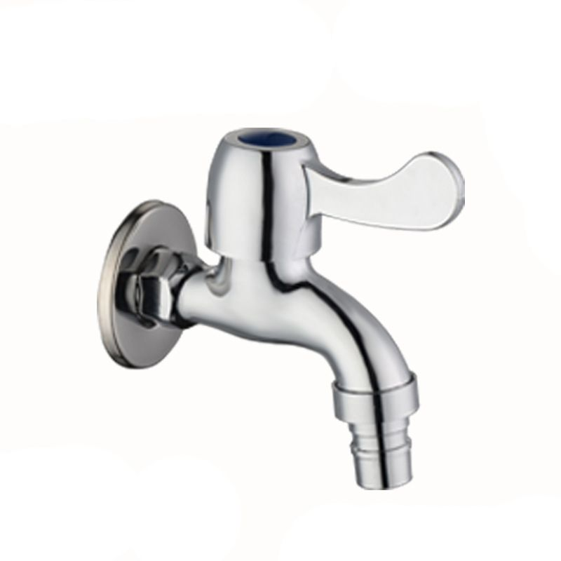 Washing Machine Single Handle Cold Water Faucet Stainless-Steel Wall ...