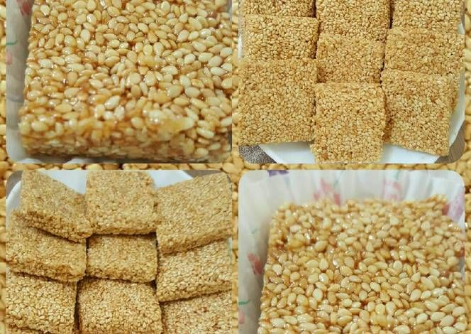 سمسمية بالصور من وصفات أم محمد الوردة البيضاء 1 Recipe Middle Eastern Recipes Krispie Treats Rice Krispie Treat