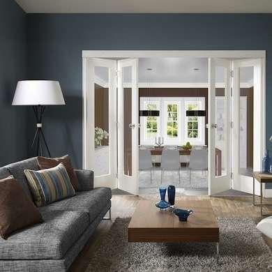 Tight Quarters 10 Smart Space Saving Door Solutions Living Rooms