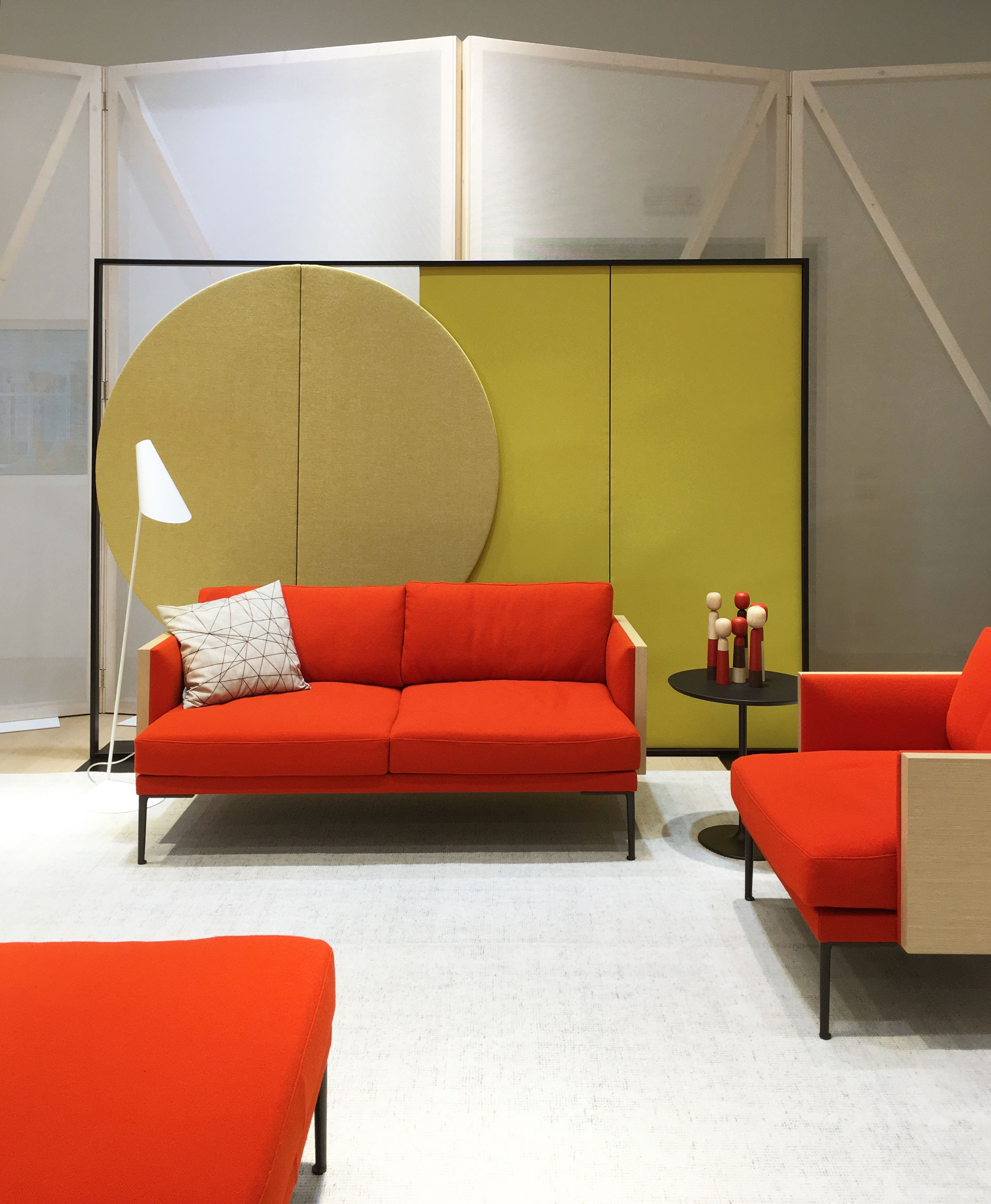 Parentesit acoustic panels and Steeve sofa by Arper Best of Year ...