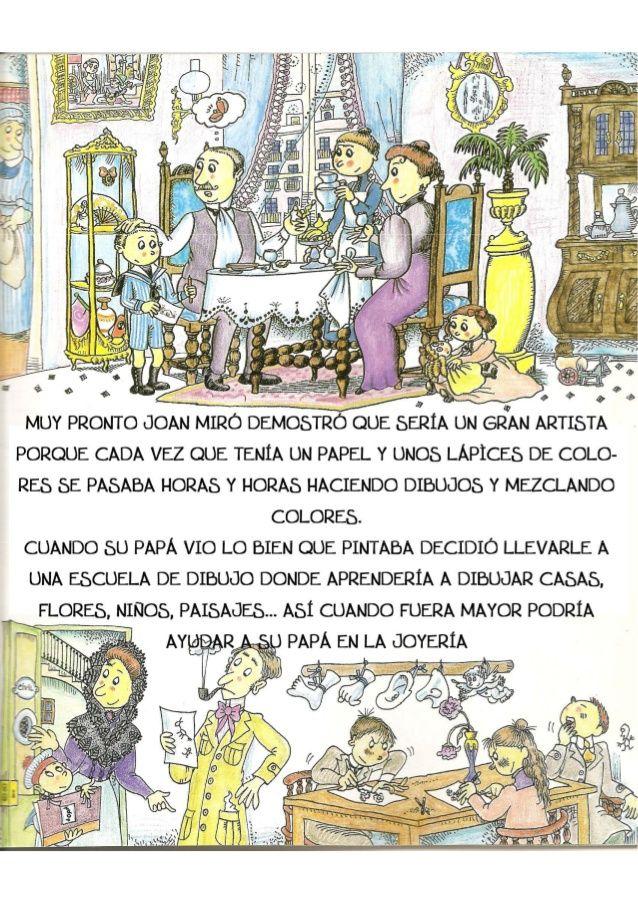 La Pequeña Historia De Joan Miro Joan Miro Miro Art