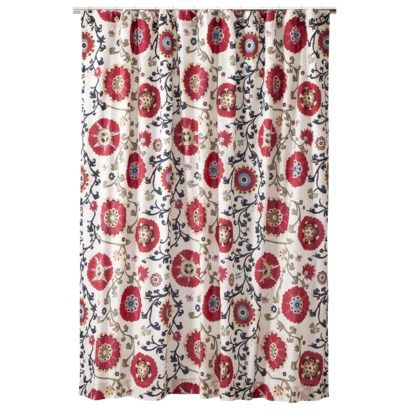 This One Is Pretty Love The Color MudhutTM Suzani Shower Curtain
