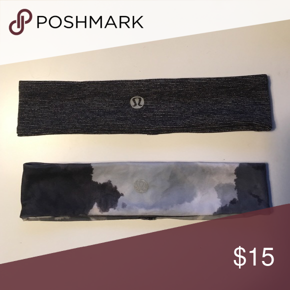 Lululemon Athletica headbands In excellent condition-received them as a gift and never used them lululemon athletica Accessories Hair Accessories