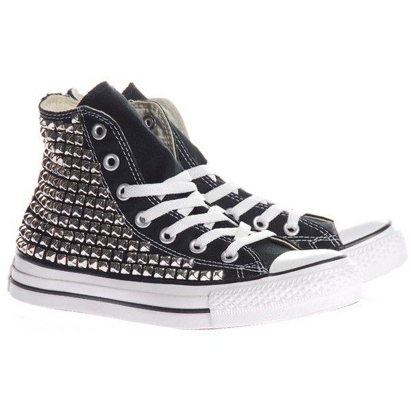 4da3b5ea9e8a63 LA SHOPPER Converse Sneaker Studs Customized Converse sneakers with...  ( 1