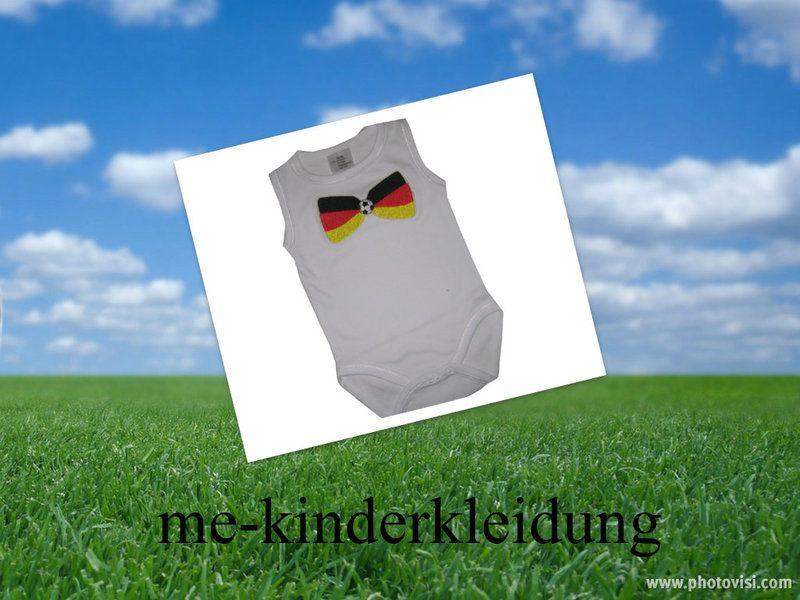 baby body deutschland fu ball von me kinderkleidung. Black Bedroom Furniture Sets. Home Design Ideas